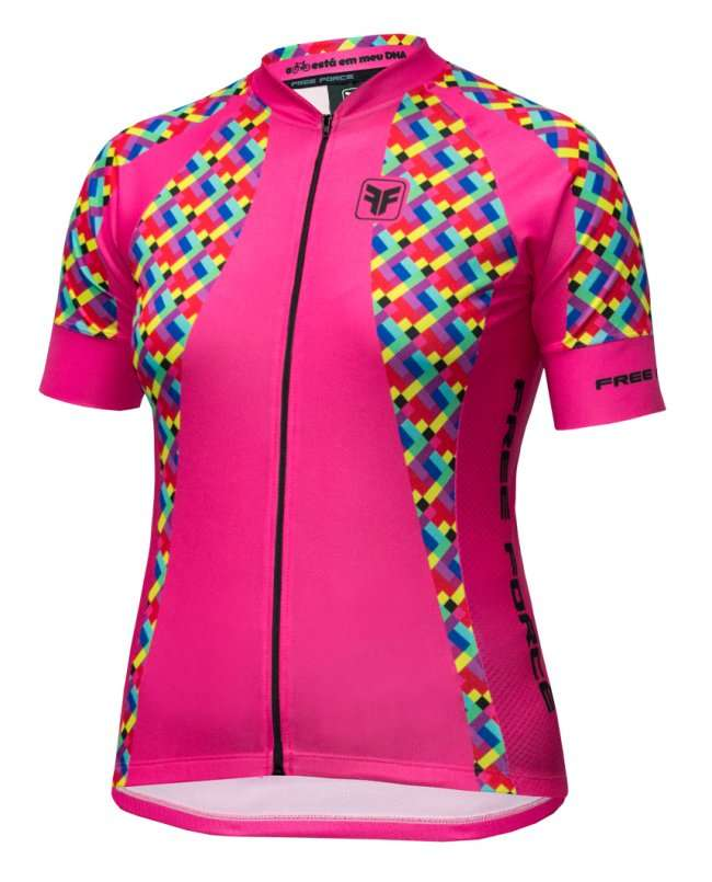 CAMISA FREEFORCE FEMININA COLORFUL ROSA