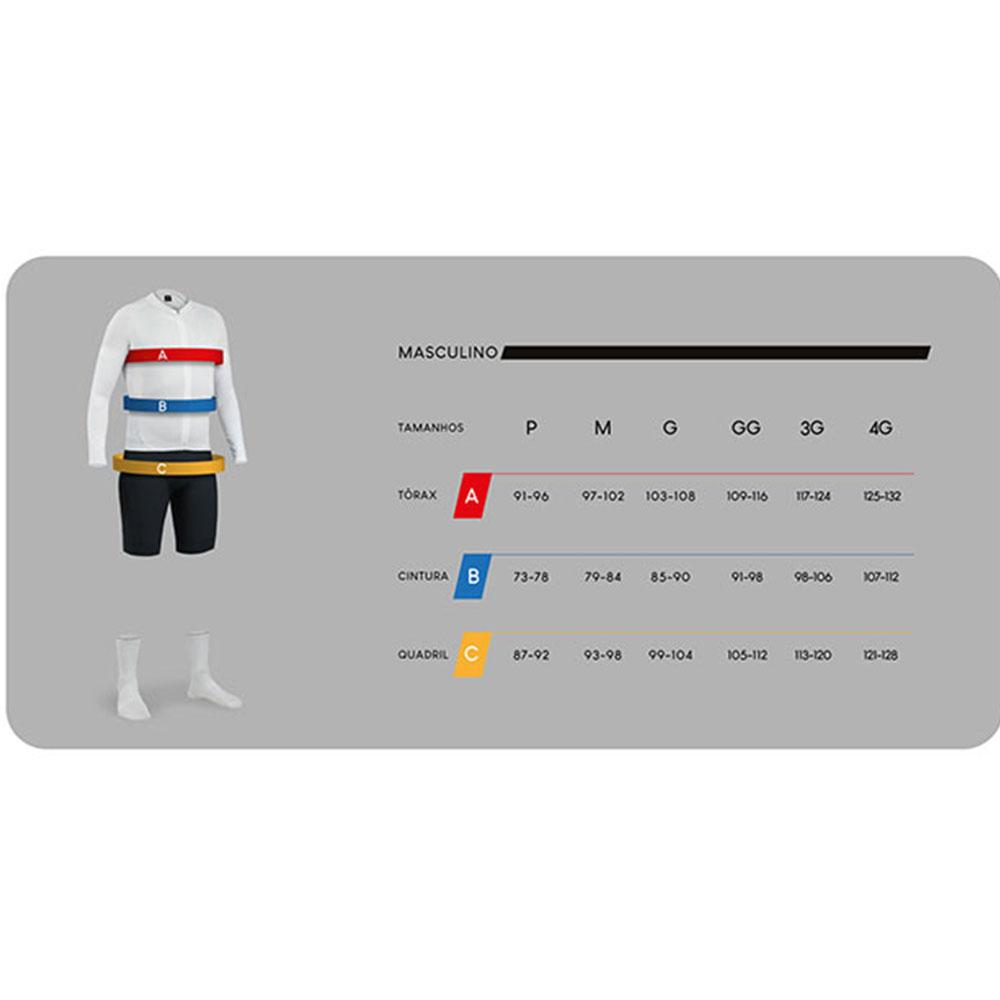 Camisa Freeforce Masculina Sport Classic BRA Preta e Dourada Ciclismo 21