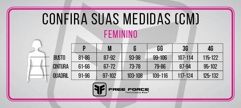CAMISA MANGA LONGA FREEFORCE FEMININA GREAT PRETA PINK E AMARELA