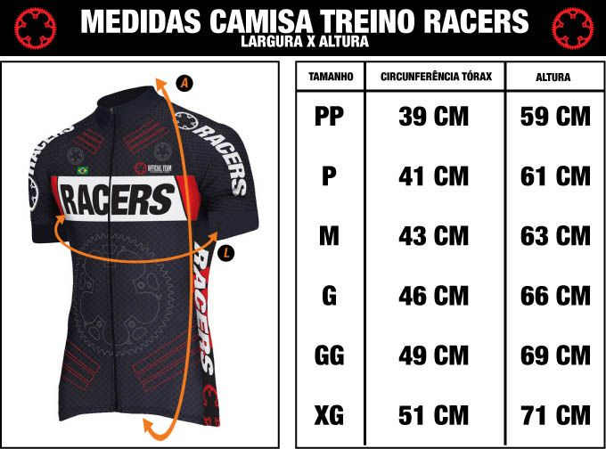CAMISA RACERS FEMININA STAR