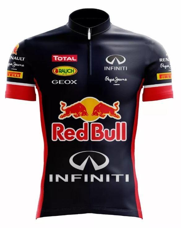 CAMISA SCAPE RED BULL CICLISMO TRADICIONAL AZUL - Bike Runners ... f0a67e3ea3f