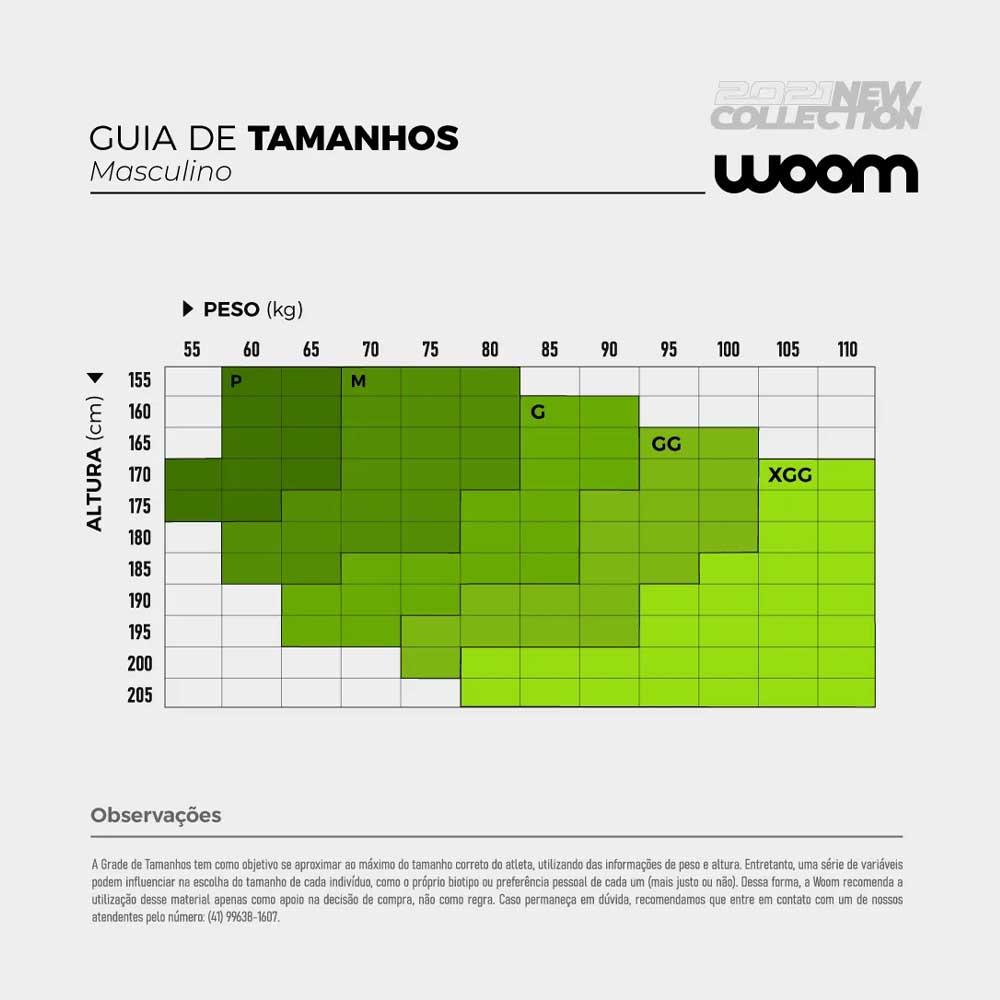 CAMISA WOOM MASCULINA SUPREME BRASIL AZUL CICLISMO 21