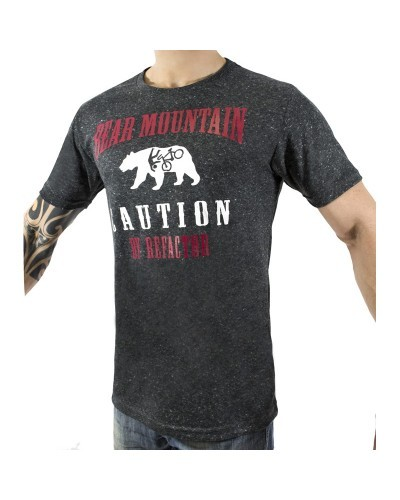 CAMISETA REFACTOR URBAN BEAR MOUNTAIN PRETA !