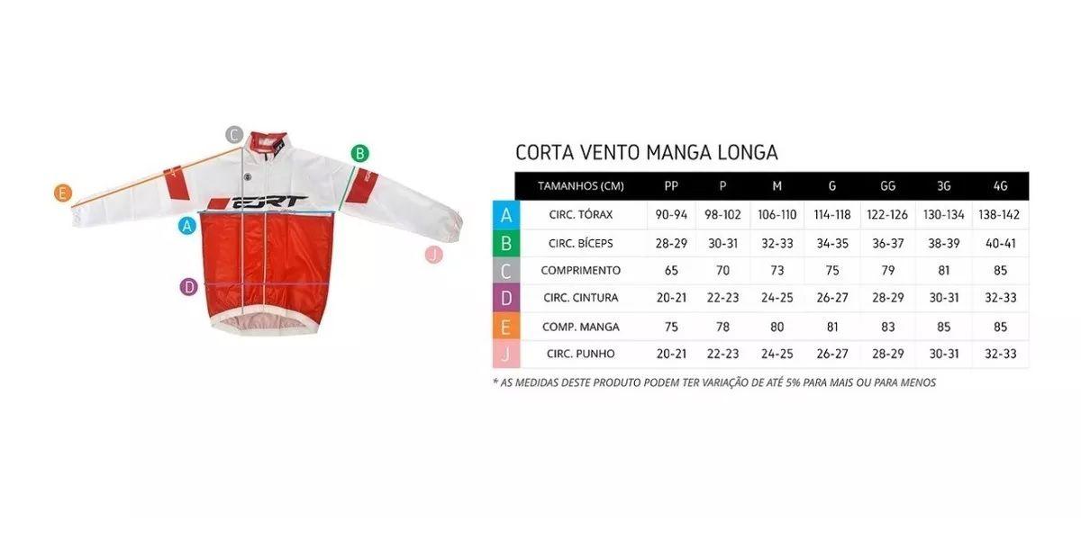 CAPA DE CHUVA E CORTA VENTO MANGA LONGA ERT PRETA LISA CICLISMO 19