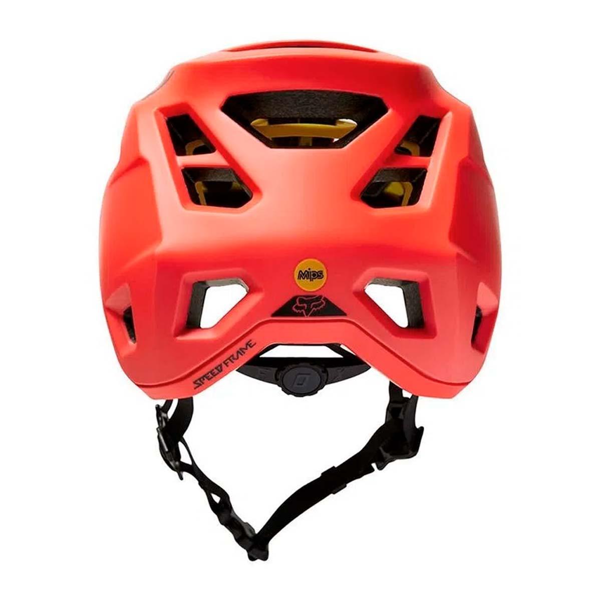 Capacete Fox Speedframe Laranja Com Mips Ciclismo 21