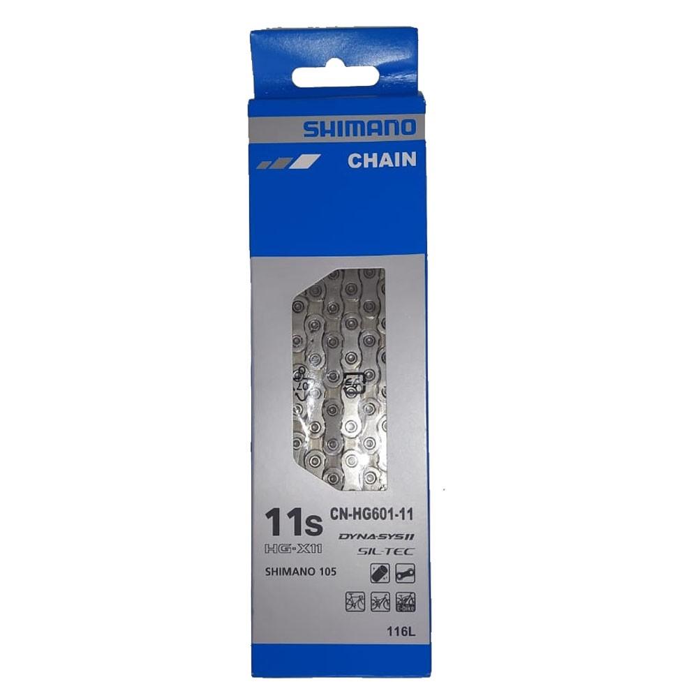 CORRENTE SHIMANO CN-HG601-11 116 ELOS 11V SIL-TEC 105 - BLC