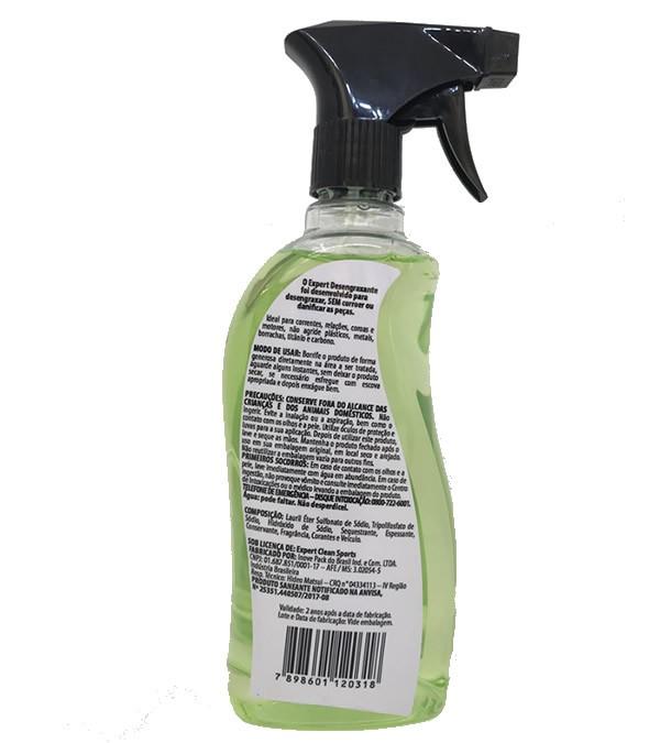 DESENGRAXANTE EXPERT CLEAN PARA BIKE E MOTO PRONTO USO 500ML