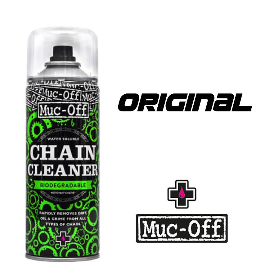 DESENGRAXANTE MUC-OFF PARA CORRENTE CHAIN CLEANER 400 ML BIODEGRADAVEL