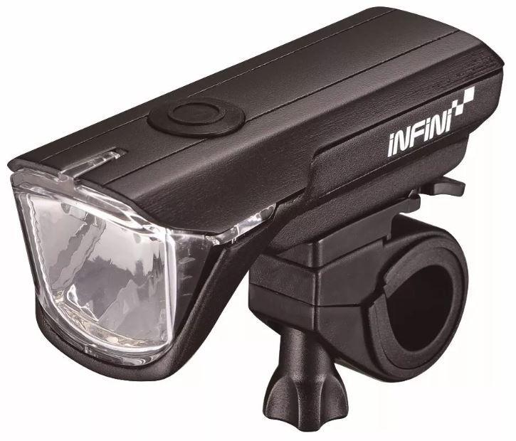 FAROL DIANTEIRO INFINI I310P SATURN PRETO 100 LUMENS LED 1WATT