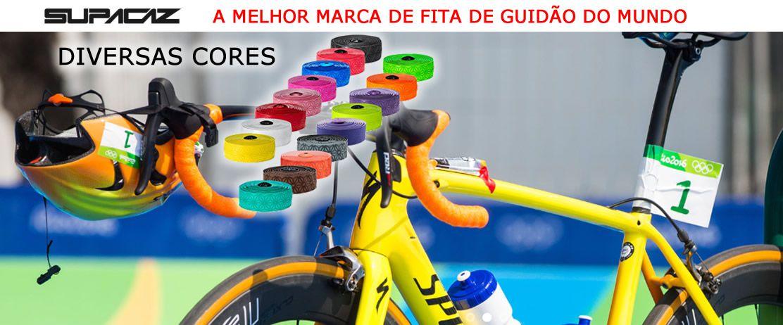 FITA DE GUIDAO SUPACAZ MULTICOLOR BRANCA E PRETA 3MM