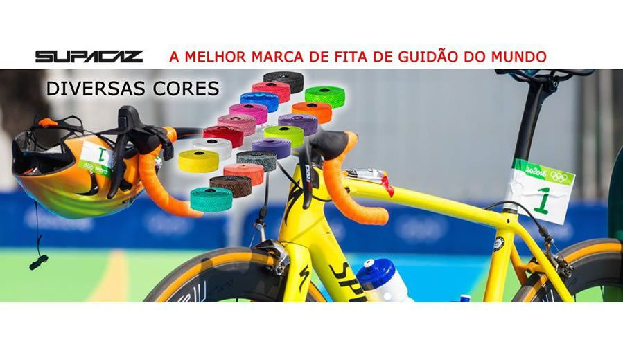 FITA DE GUIDAO SUPACAZ UNICOLOR CELESTE 3MM SPEED