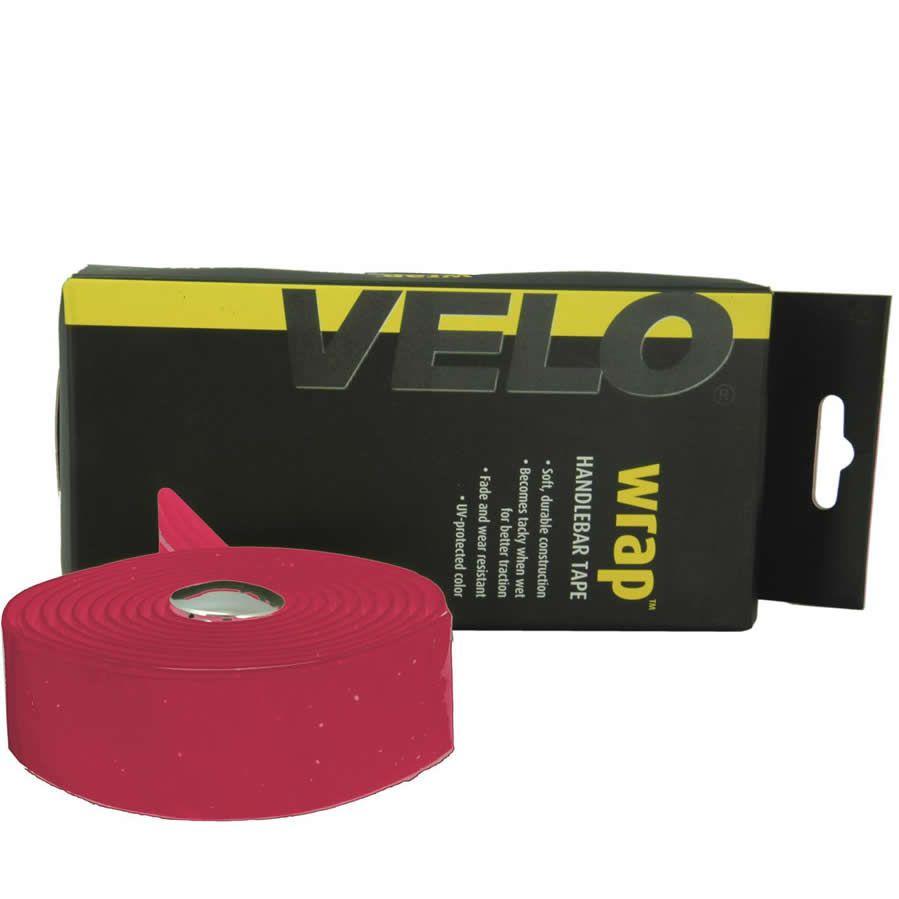FITA DE GUIDAO VELO VLT-001 SG EVA COM VEXGEL VERMELHA COM PLUG CROMADO 200X3CM - ISP