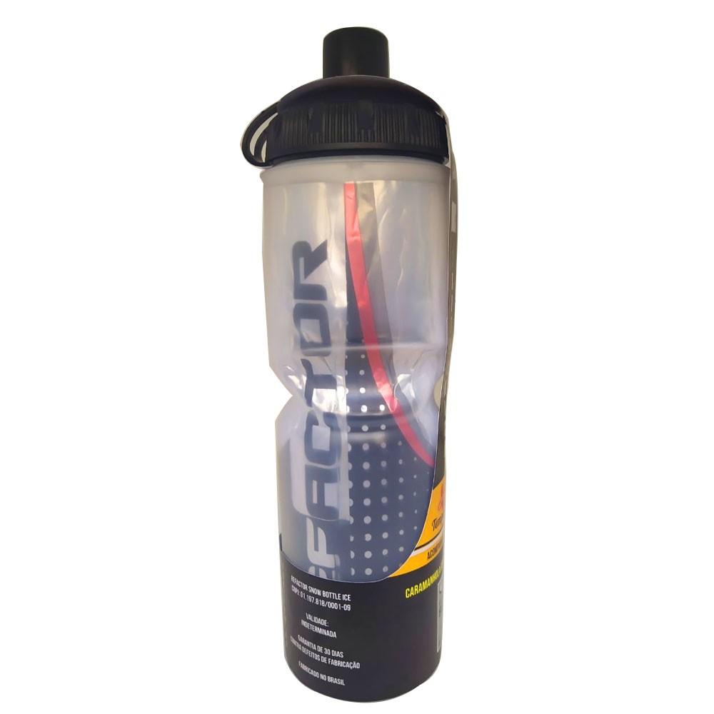 GARRAFA TERMICA REFACTOR SNOW FREE BPA (ATE 12 HORAS) PRETA 710 ML