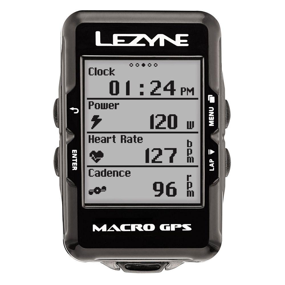GPS LEZYNE MACRO CICLOCOMPUTADOR V104 PRETO
