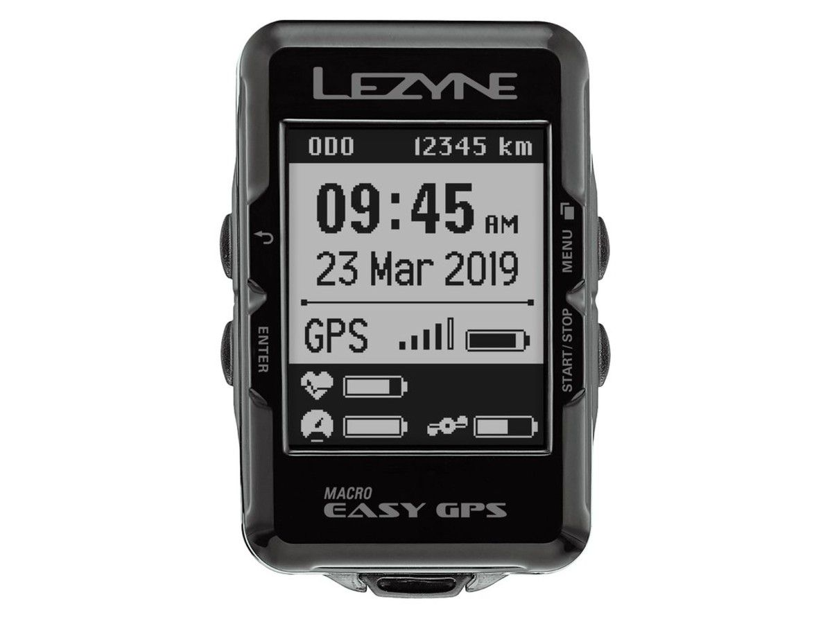 GPS LEZYNE MACRO EASY CICLOCOMPUTADOR V104 PRETO