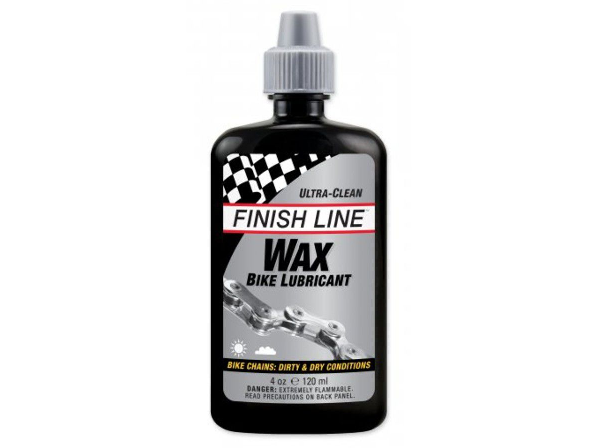 LUBRIFICANTE FINISH LINE CERA PARA CONDICOES SECAS E SUJAS 120ML BIKE - ISP
