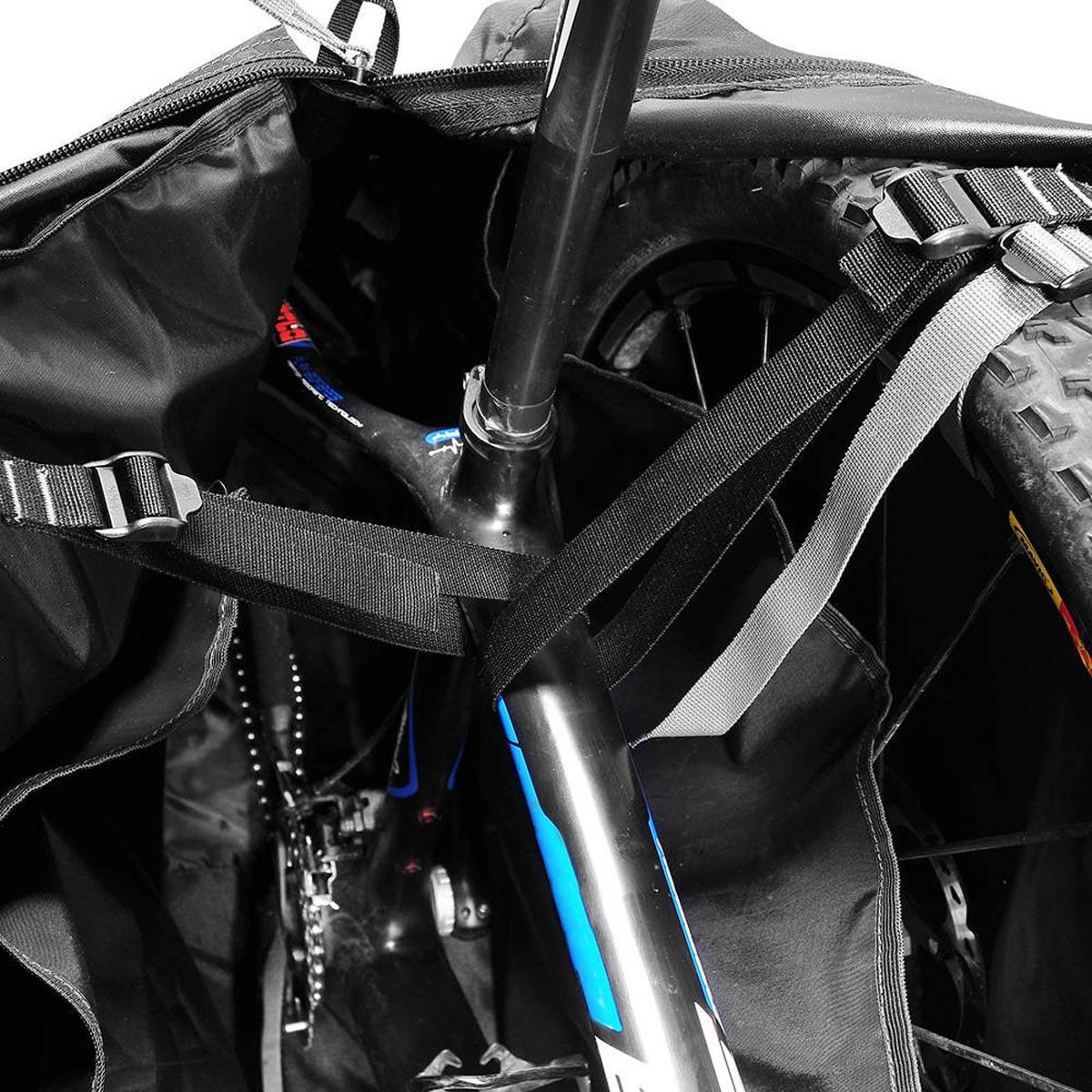 Malabike Curtlo Aro 29 Compatível com aros 700, 26, 27,5 e 29 Preto
