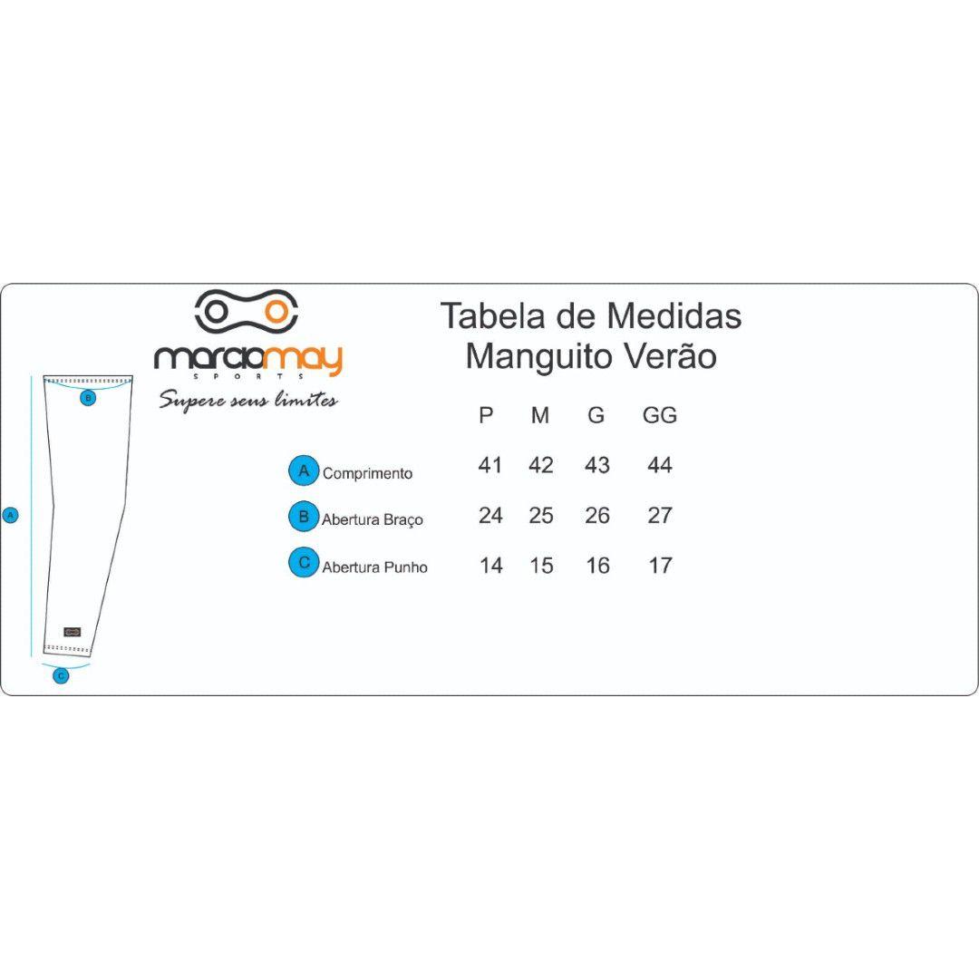 MANGUITO MARCIO MAY COMFORT PRETO CICLISMO 19