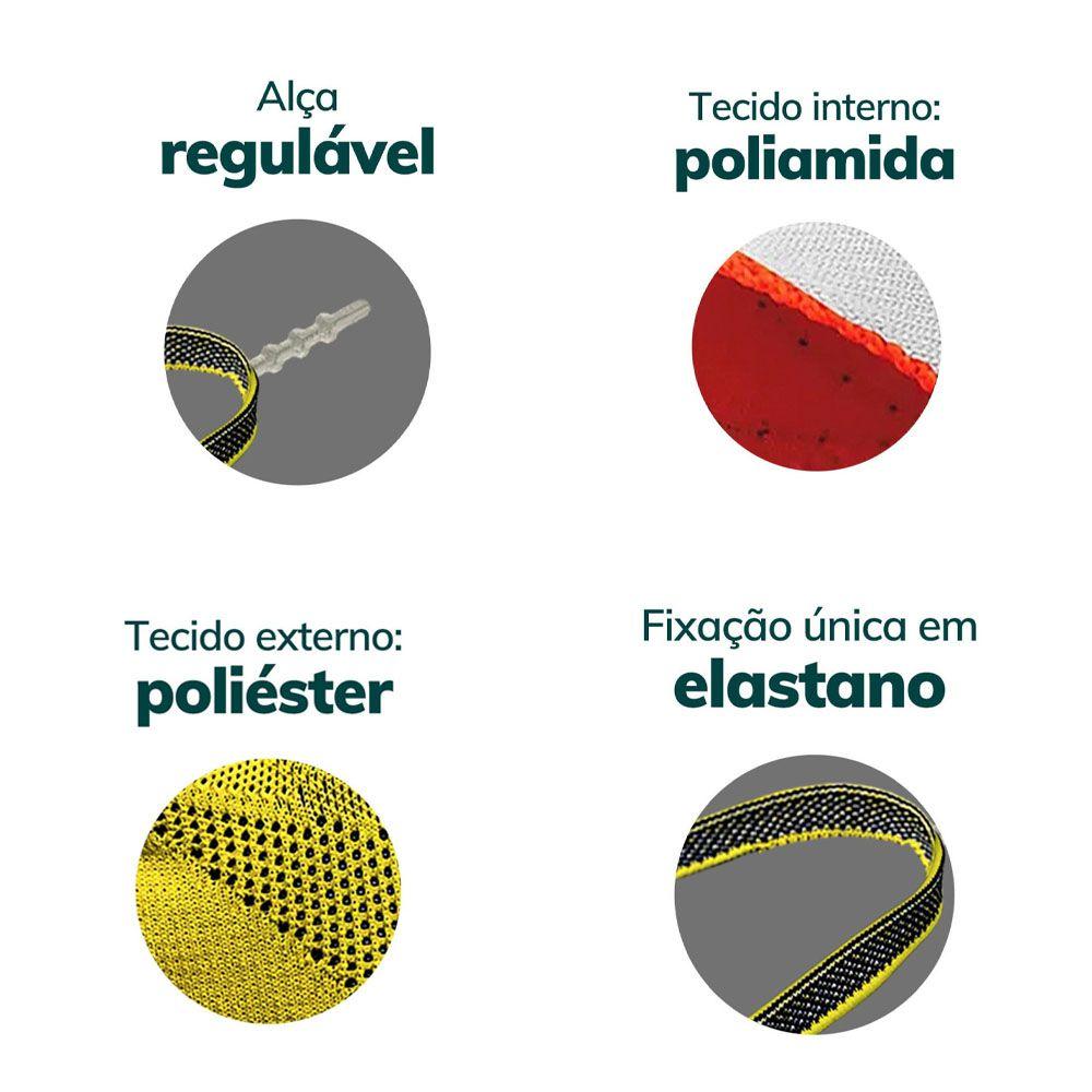 MASCARA DE PROTECAO FIBER KNIT VERDE MILITAR TECNOLOGIA 3D LAVAVEL COM FILTRO
