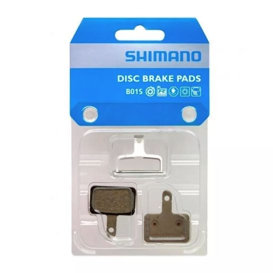 PASTILHA FREIO A DISCO SHIMANO B01S RESINA PN:Y8C998050 - BLC
