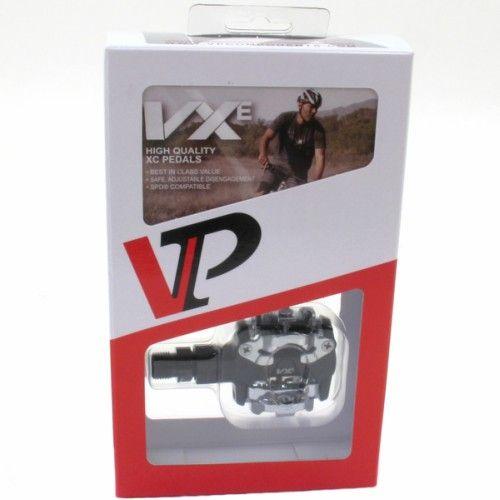 PEDAL CLIP MTB VP VX1000 ESFERA BLACK COMPATIVEL COM SPD