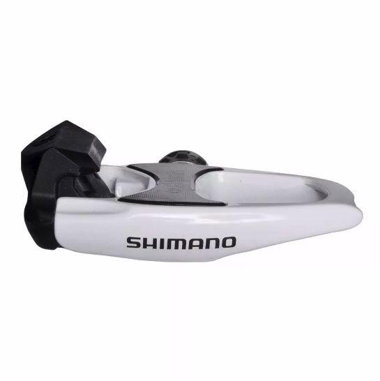 PEDAL CLIP SPEED SHIMANO R540 BRANCO SEM REFLETOR PN:EPDR540W2 - BLC