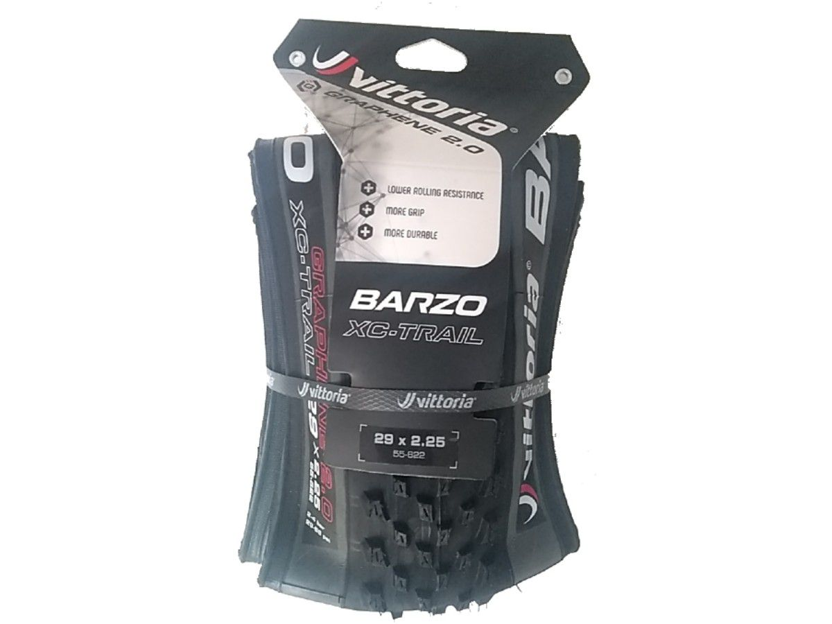 PNEU 29X2.25 VITTORIA BARZO XC TRAIL TLR G2.0 KEVLAR PRETO/CINZA - 11A00016