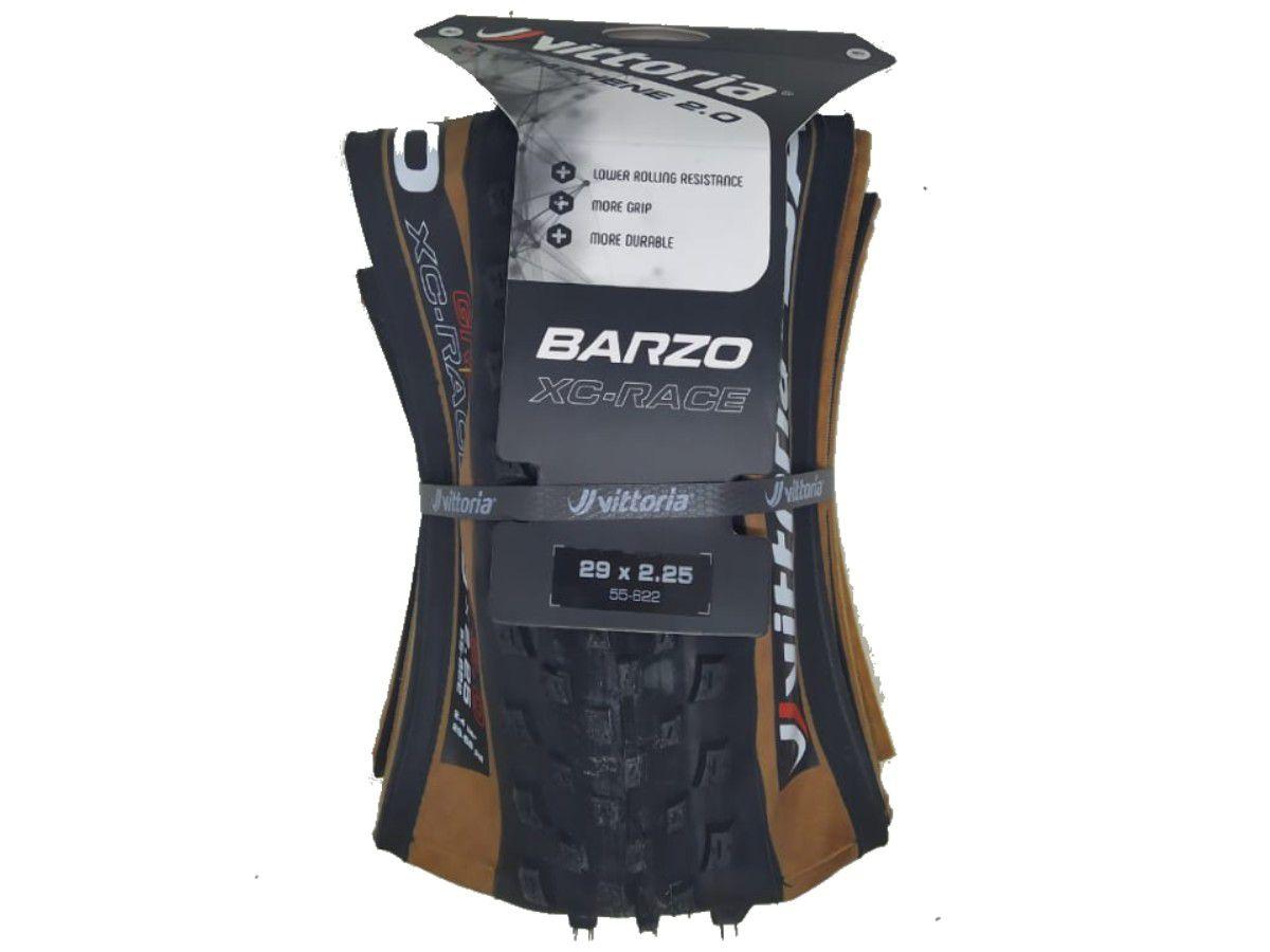 PNEU 29X2.25 VITTORIA BARZO XCR TRANSP KEVLAR GRAFENO 2.0 BORDA MARROM TLR (11A00015)