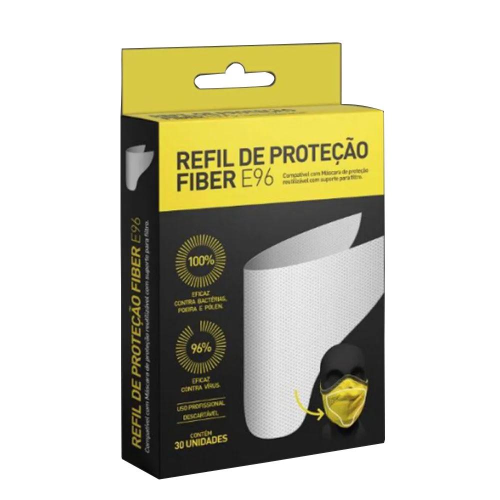 REFIL DE PROTECAO MASCARA FIBER KNIT E96 30 UNIDADES