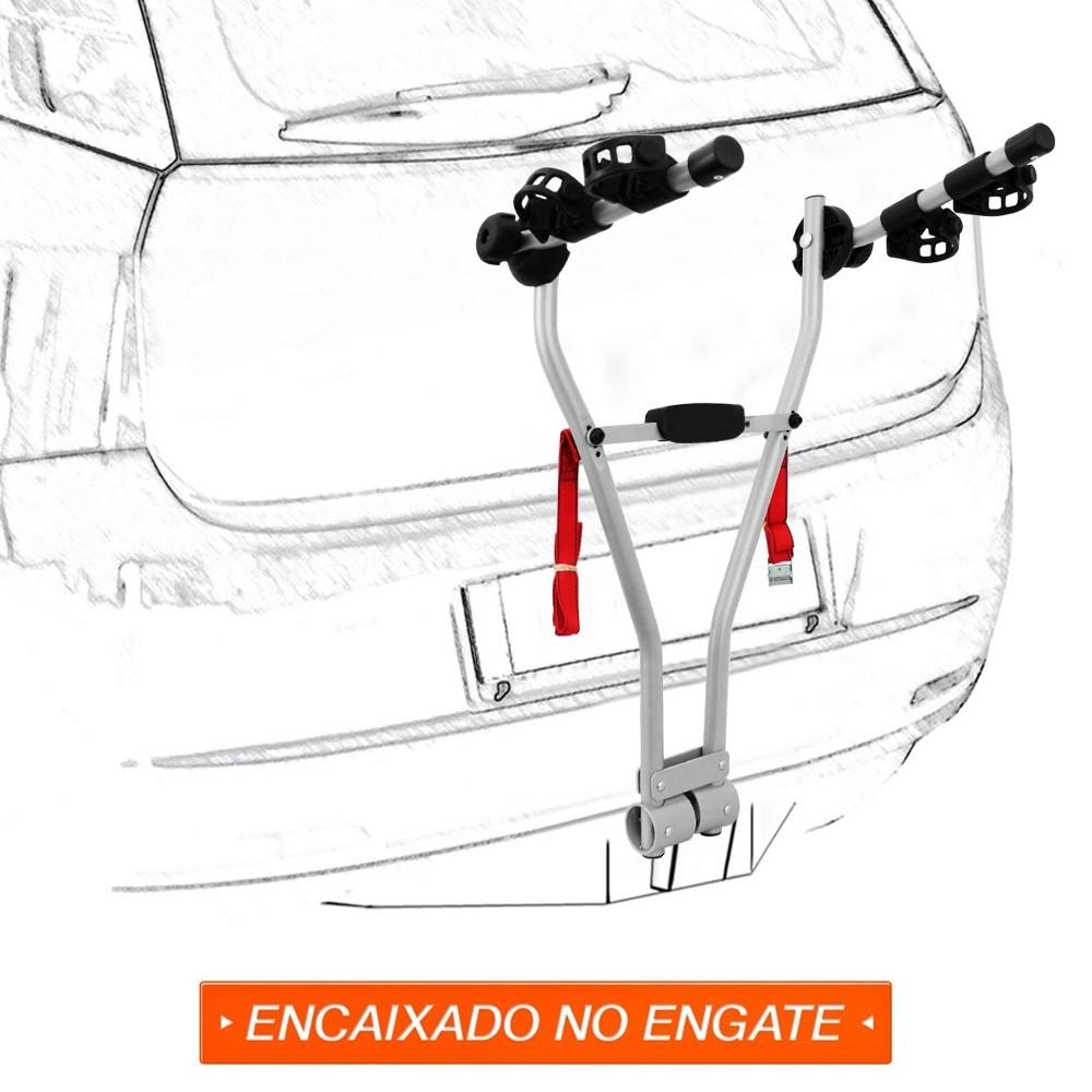 SUPORTE BIKE EQMAX ENGATE EASY 2 TRANSBIKE