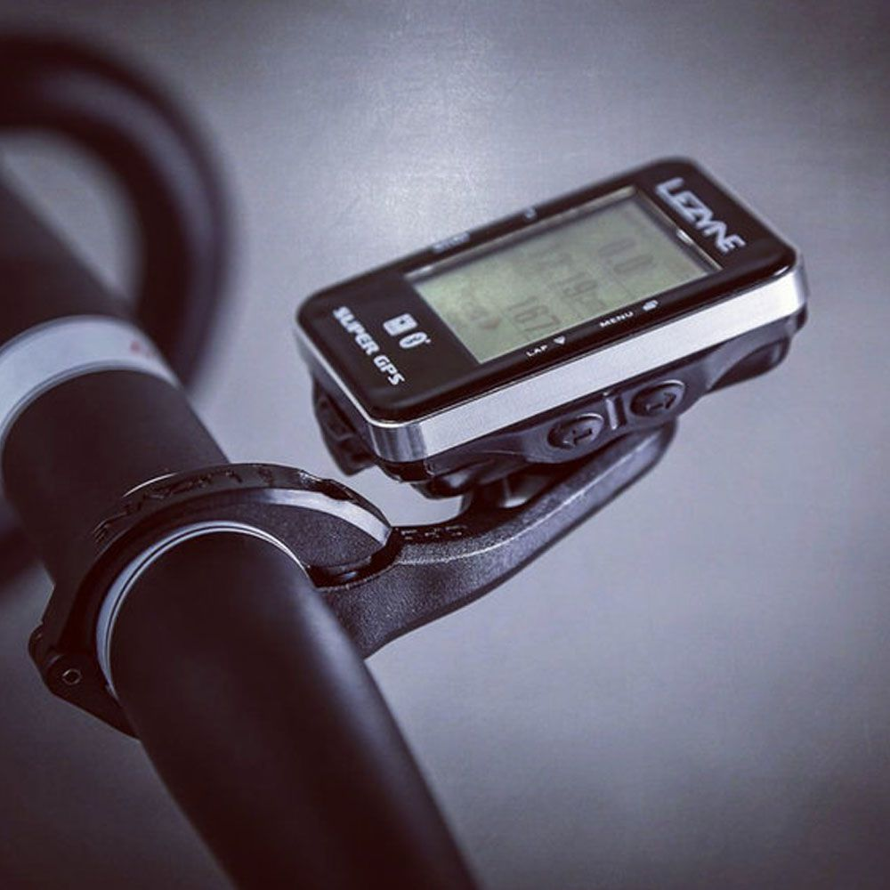 SUPORTE PARA GPS LEZYNE AVANCADO 31.8 X-LOCK PRETO