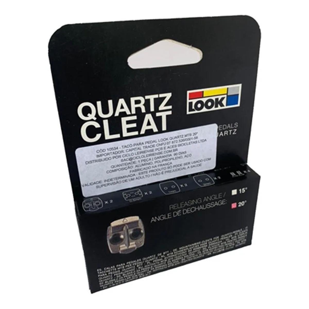 Taco Pedal Mtb Look Quartz 20°X5  Ref DTPD 0152167