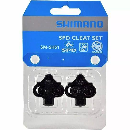 TACO PEDAL MTB SHIMANO SH51 PN:Y42498201 - BLC