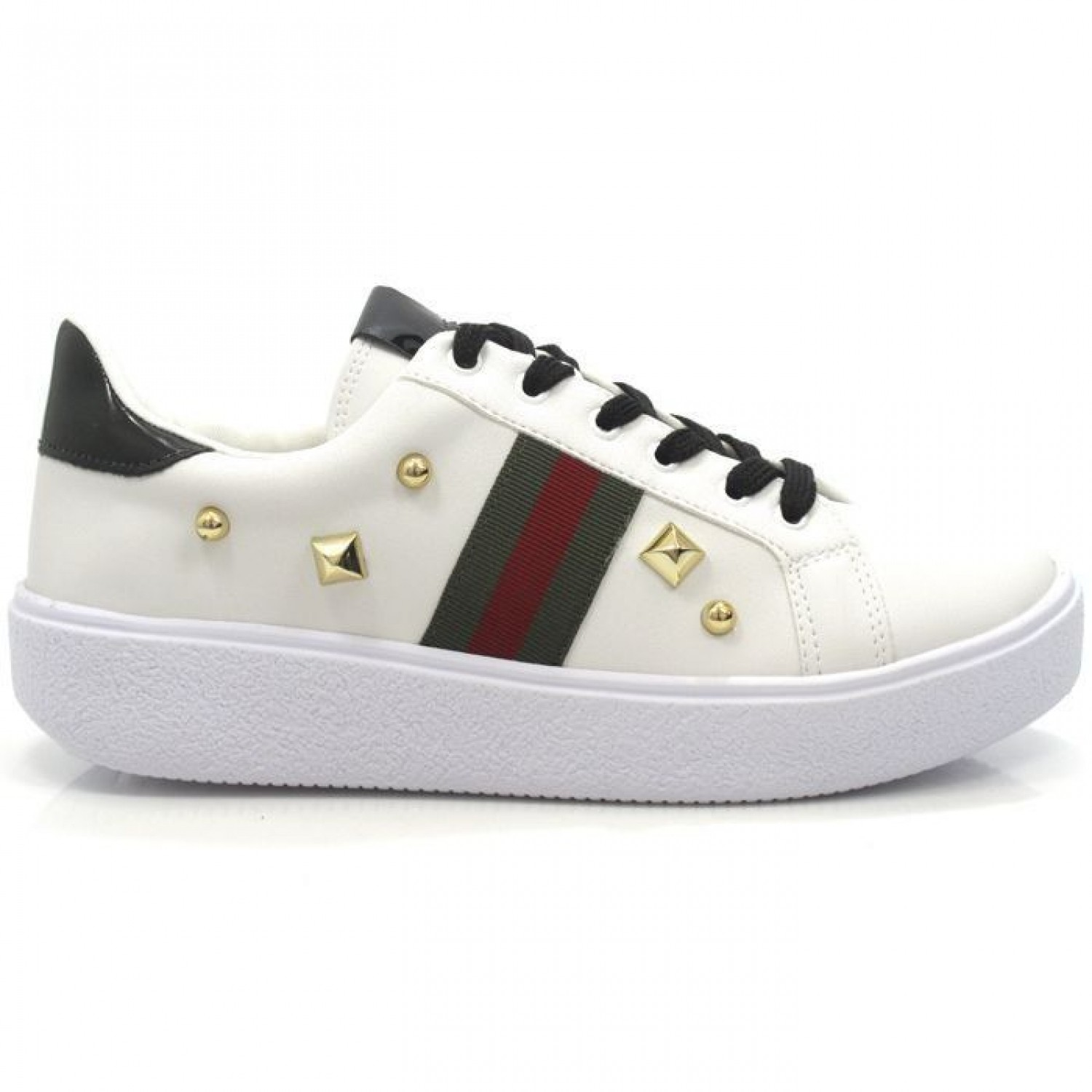 TÊNIS GUCCI INSPIRED SPIKES VERDE