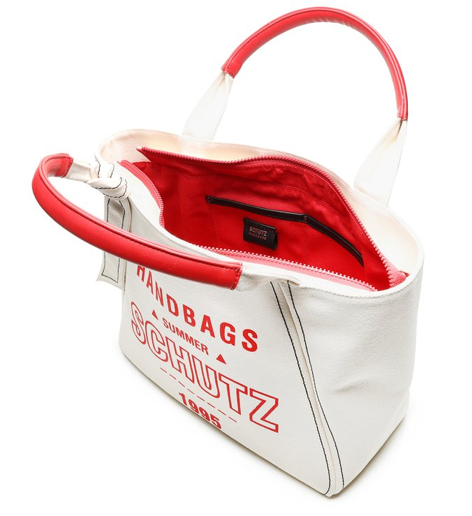 BOLSA SCHUTZ SHOPPING BAG RED 1995 CRU