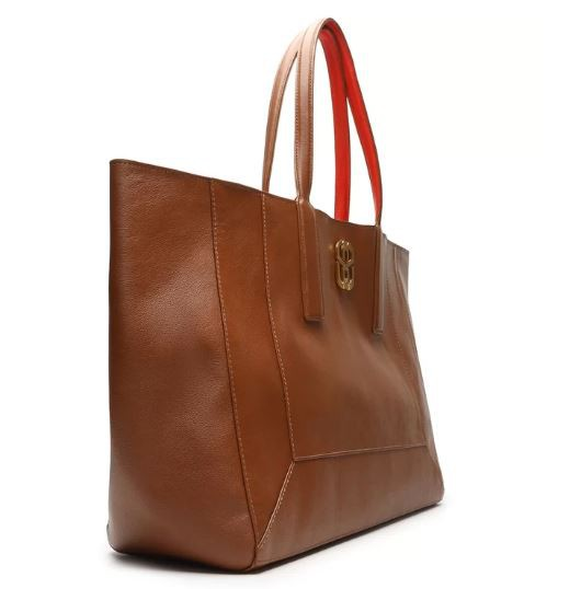 SHOPPING BAG SCHUTZ DOUBLE FACE MARROM