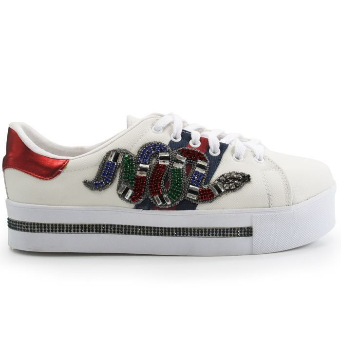 TÊNIS GUCCI INSPIRED SNAKE CLASSIC