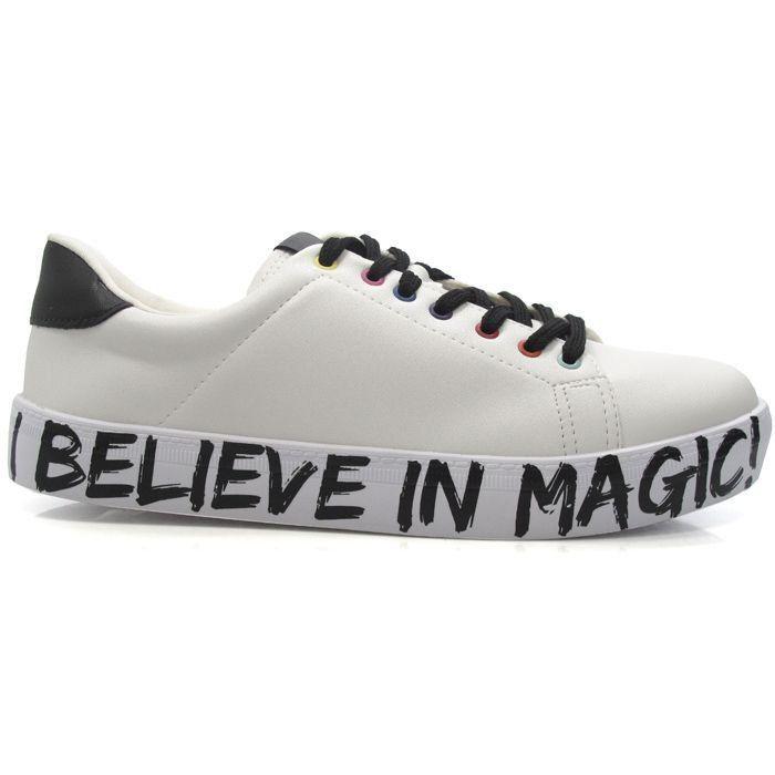 TÊNIS I BELIEVE IN MAGIC BRANCO