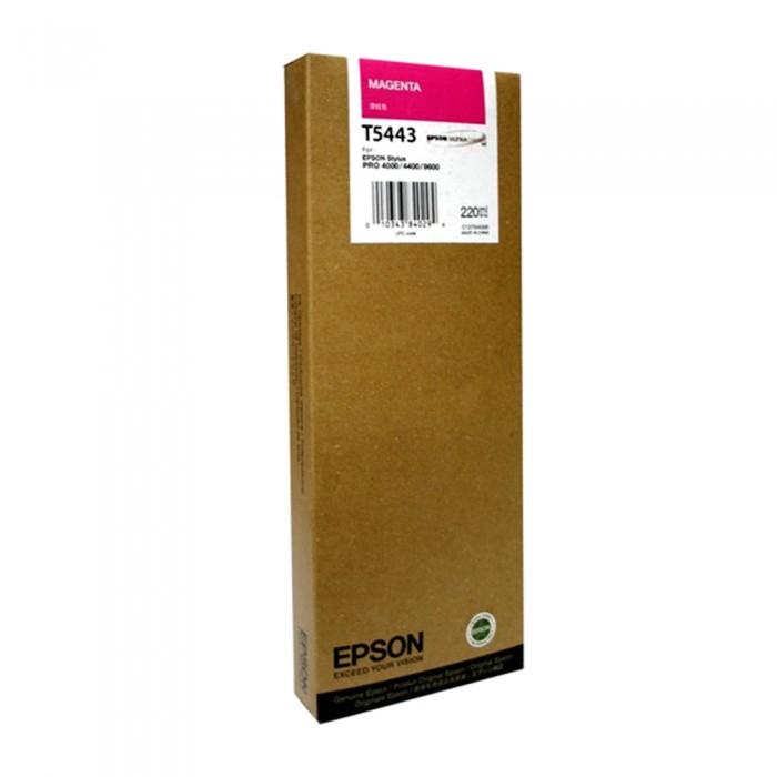 Cartucho Epson Original T544300 UltraChrome Magenta