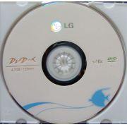 DVD-R (8X) LG  4.7 GB 120 min. 100 UND COM LOGO 16x