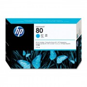 Cartucho HP 80 Original C4872A Cyan | 1050 | 1055