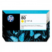 Cartucho HP 80 Original C4873A Yellow | 1050 | 1055