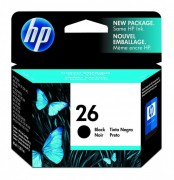 Cartucho HP 26 Original 51626A Black | Deskjet 400 | 510 | Officejet 300