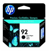 Cartucho HP 92 Original C9362WB Black | 1507 | C3140 | 7850