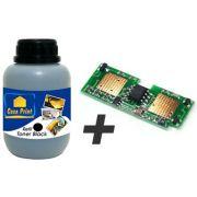 Kit de Recarga p/ Toner Samsung SCXD4200A refil 90 Gr chip Manual de Recarga