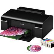 Impressora Epson Stylus Photo T50 Impressão CD/ DVDs Revisada Com Garantia