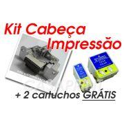 Kit Cabeça de Impressão Epson Stylus Color C60 c/ 2 Catuchos GRÁTIS !!