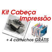 Kit Cabeça de Impressão Epson Stylus Color C82 / CX5400 c/ 4 Catuchos GRÁTIS !!