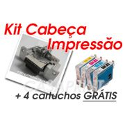 Kit Cabeça de Impressão Epson Stylus Color CX3500 / CX4500 c/ 4 Catuchos GRÁTIS !!