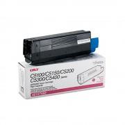 Toner Okidata Original 42127402 Magenta | C5100n | C5200n | C5300n | C5400dn